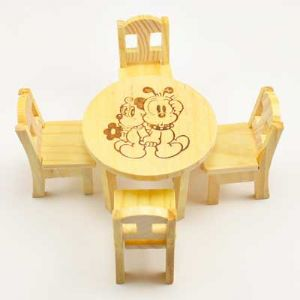 miniature furniture, 1:16, 7cm x 5cm, (DZZ0014)